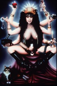 Feminist porn star Annie Sprinkle sacred prostitute image from Wikimedia Commons