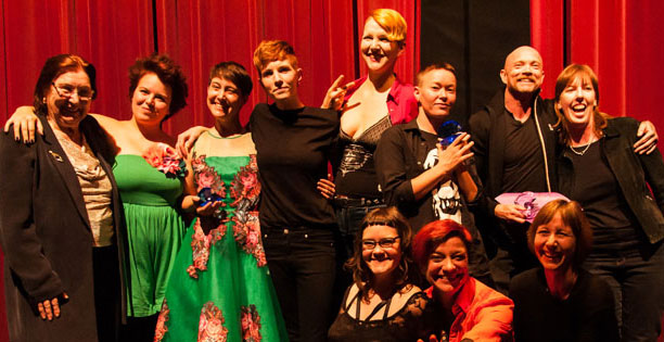 2015 PorYes Award winners and presenters