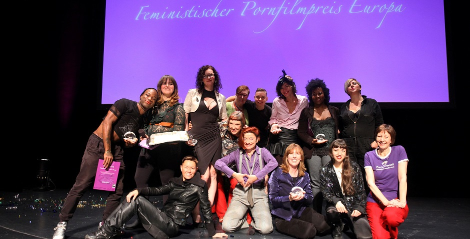 PorYes Feminist Porn Award Group photo by PorYes